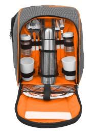 Picknick Rucksack inkl. Geschirr für 2 Personen