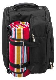 Picknickrucksack mit Kühlfach und Decke